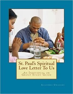 New Book Release: St. Paul's Spiritual Love Letter To Us: An Individual or Group Study Guide